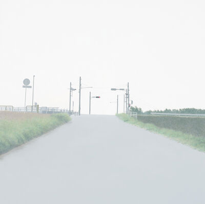Tokuro Sakamoto, 'Breath ( road, Traffic light)', 2012