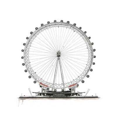 Richard Berner, 'London Eye's ', 2018