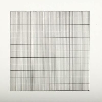 Agnes Martin, 'Untitled #7 (from Stedelijk Museum), 1990', 1990