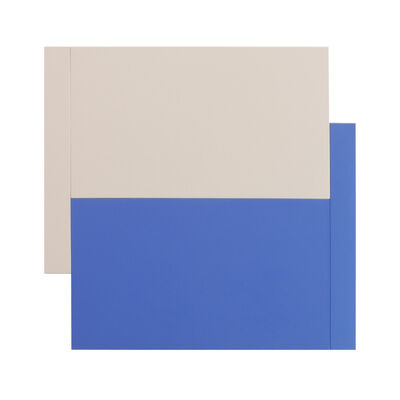 Scot Heywood, 'Shift – Canvas, Blue', 2016