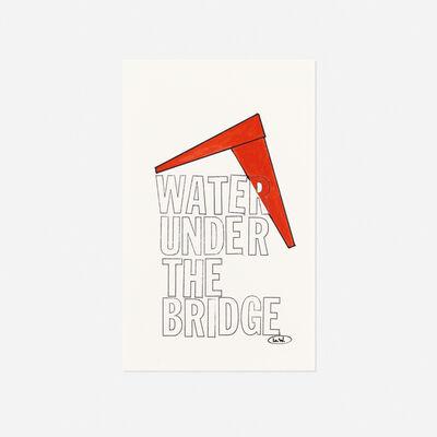 Lawrence Weiner, 'Water Under the Bridge', c. 1986