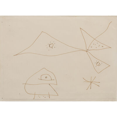 Joan Miró, 'S/T', 1956