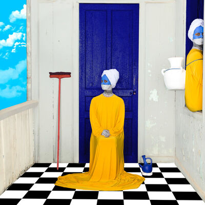 Aida Muluneh, 'A Woman's Work', 2018