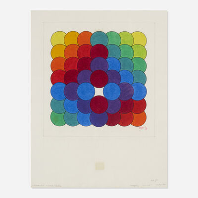 Herbert Bayer, 'Chromatic Accumulation', 1971