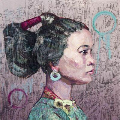 Hung Liu 刘虹, 'Her Mountains', 2021
