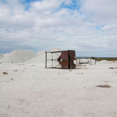 Mary Mattingly, 'Abandoned Mine in Texas', 2017