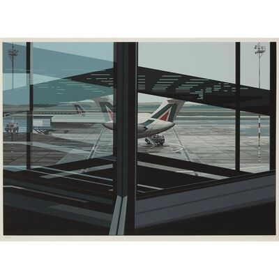 Richard Estes, 'Airport, from the Urban Landscapes III portfolio', 1981