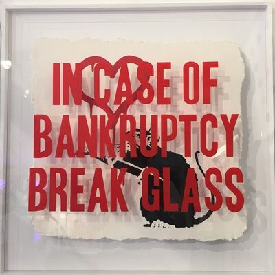 Thirsty Bstrd, 'In Case of Bankrupty: Love Rat ', 2018