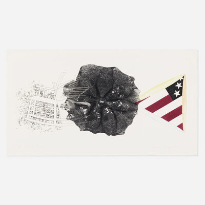 James Rosenquist, 'Black Triangle', 1978