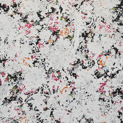 Shinji OHMAKI, 'Echoes Crystallization Flower black', 2014