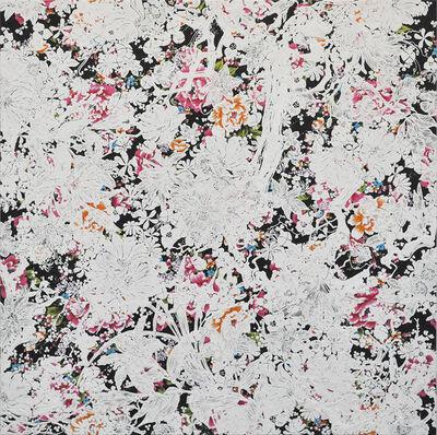 Shinji Ohmaki, 'Echoes Crystallization Flower black', 2014
