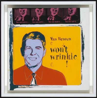 Andy Warhol, 'Van Heusen, 1985 (#356, Ads) ', 1985