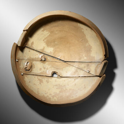 Peter Voulkos, 'Untitled Plate', 1978