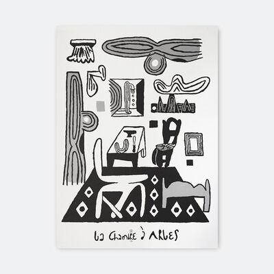 Soeren Behncke, 'La Chambre (B/W version)', 2018