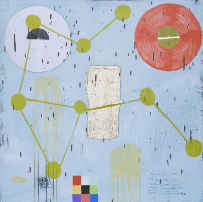 Squeak Carnwath, 'Same Boat', 2006