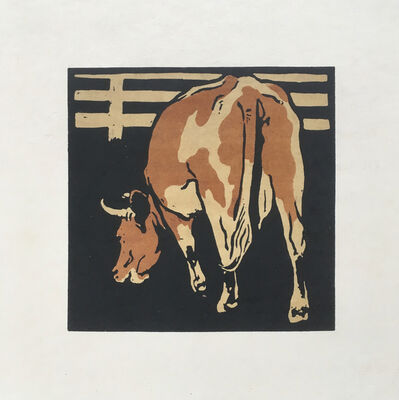 William Nicholson, 'The Servile Cow', 1899