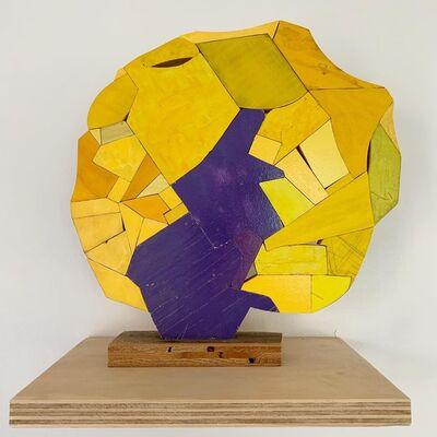 Damien Hoar de Galvan, 'Yellow Purple ', 2018