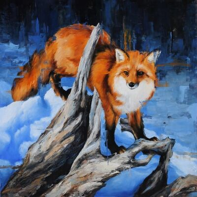 Morgan Cameron, 'Winter Fox', 2020