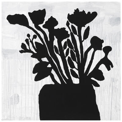 Donald Baechler, 'Flowers in a Vase', 2009