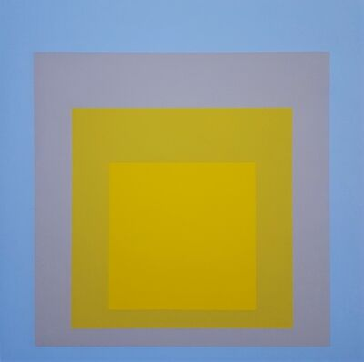 Josef Albers, 'Wide Light', 1962