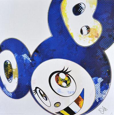 Takashi Murakami, 'And Then x 6 (Blue: The Polke Method)', 2016