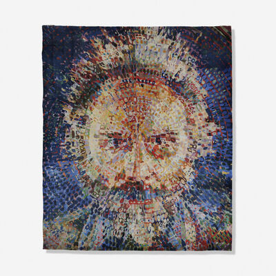 Chuck Close, 'Lucas/Rug (unapproved color variant)', 1993