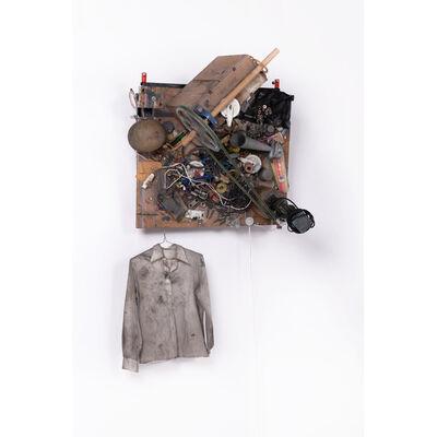 Daniel Spoerri, 'Caisse palette, Jim Whithing, motorisée', 1989
