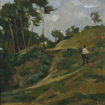 Emanuele Cavalli, 'The shepherd', 1968
