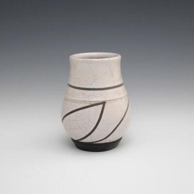 Danucha Brikshavana, 'White Crackle Raku Vase', 2019