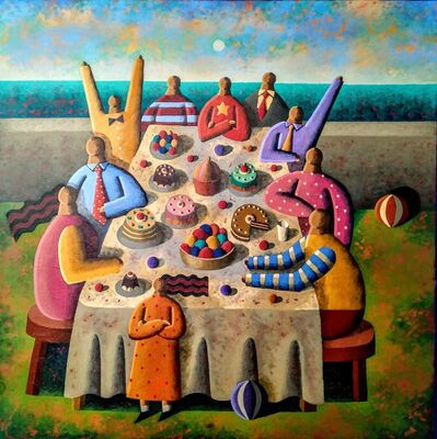 Jordi Pintó, 'Family meeting', 2019