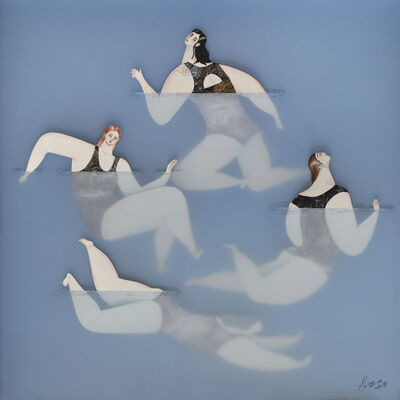 Sonia Alins, 'The Swimmers III', 2020