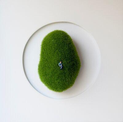 María Ángeles Atauri, 'Green bubble', 2021