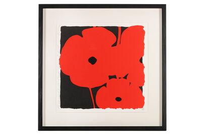Donald Sultan, 'Three Reds'