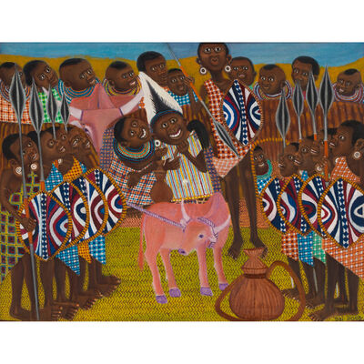 Ancent Soi, 'Maasai Dowry Ceremony', 2003