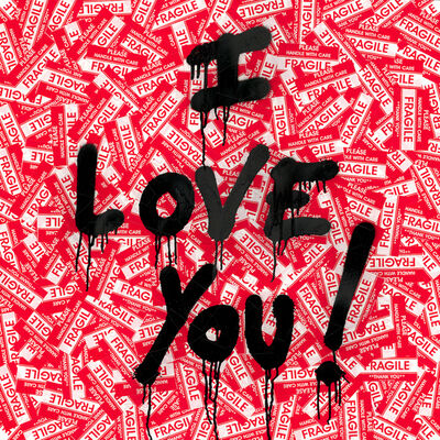 Mr. Brainwash, 'I Love You!', 2019