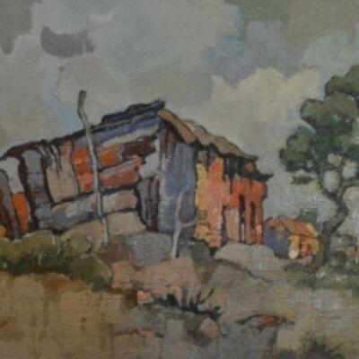 Gregoire Johannes Boonzaier, 'Rural Shack', 1982