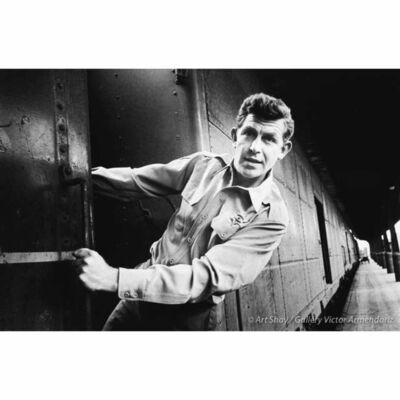 Art Shay, 'Andy Griffith on Train in Nashville, 1961', 2017