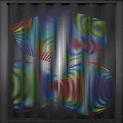 Alberto Biasi, 'Metamorfosi 6', 1999