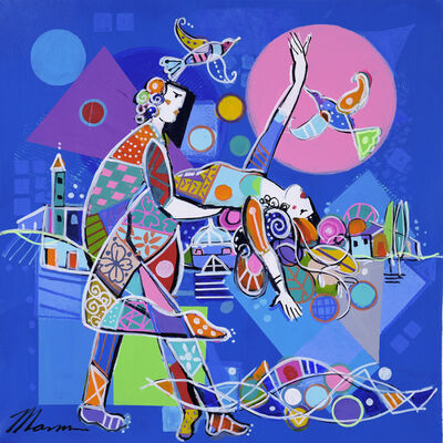 Isaac Maimon, 'Dancing By The Moon', 2017