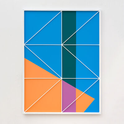 Przemek Pyszczek, 'Facade Painting IV, CA', 2019