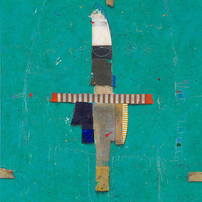 Cole Morgan, 'Ticket on Green', 1992