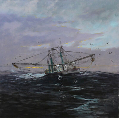 Billy Solitario, 'Rough Weather, Mississippi Sound', 2018