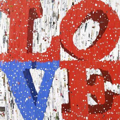 David Mach, 'LOVE', 2012