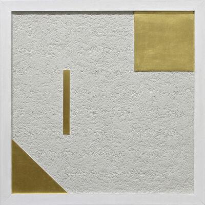 Elio Marchegiani, 'Coefficienti aurei - Grammature d'oro K24 supporto intonaco', 2018
