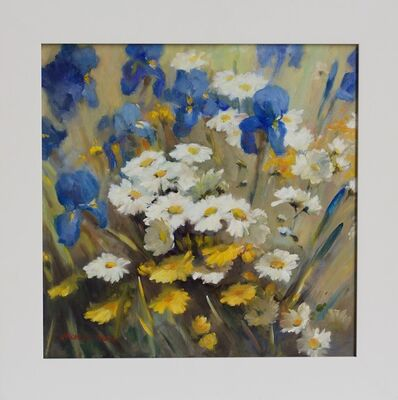 Jacqueline Fowler, ''Daisies and Irises'', 2014