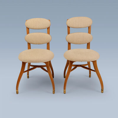 Vilhelm Lauritzen, 'Pair of orchestra chairs for musicians', 1937-1946