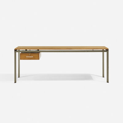 Poul Kjærholm, 'Academy desk for the School of Architecture at the Royal Academy, Copenhagen', 1955