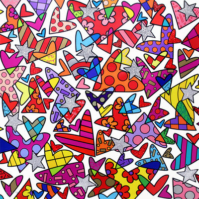 Romero Britto, 'Cloud Nine', 2017