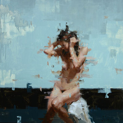 Jacob Dhein, 'Nude in Blue', 2014