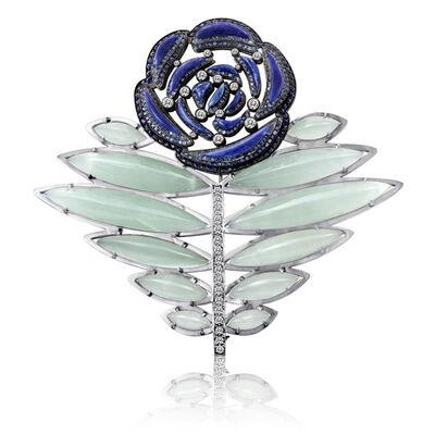 William Ehrlich, 'Rose Pin', 2011
